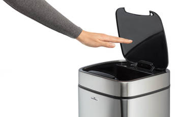 hand over sensor No Touch afvalbak